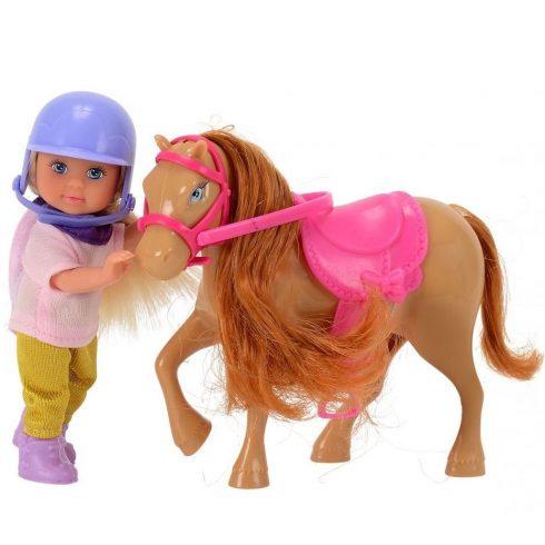 Simba Toys Evi Love - Evi baba világosbarna pónival (105737464)