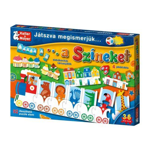 Keller & Mayer 712079 Játszva megismerjük a színeket