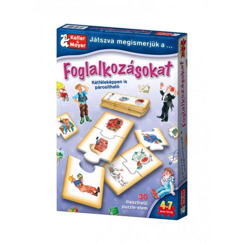 Keller & Mayer 712093 Játszva megismerjük a foglalkozásokat