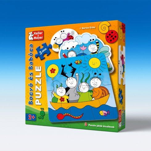 Keller & Mayer 713212 Bogyó és Babóca - Baba puzzle