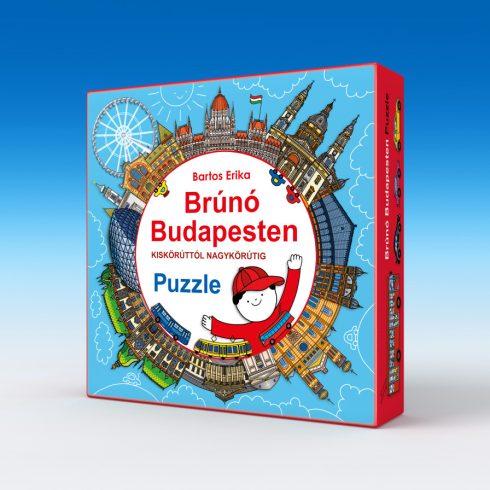 Keller & Mayer 713502 Brúnó Budapesten - Puzzle
