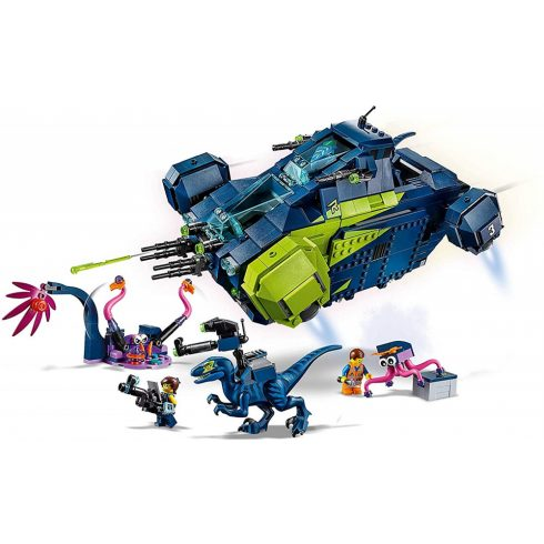 Lego The Movie 2 70835 Rex Rexplorer űrhajója