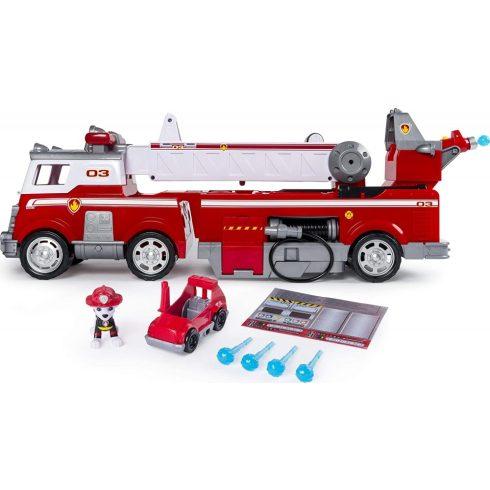 Spin Master Mancs őrjárat - Óriás tűzoltóautó Marshall figurával (6043989)