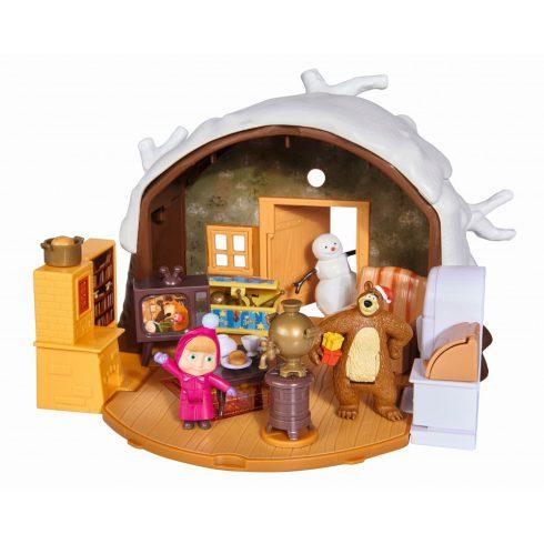 Simba Toys Mása és a medve - Medve téli háza (109301023)