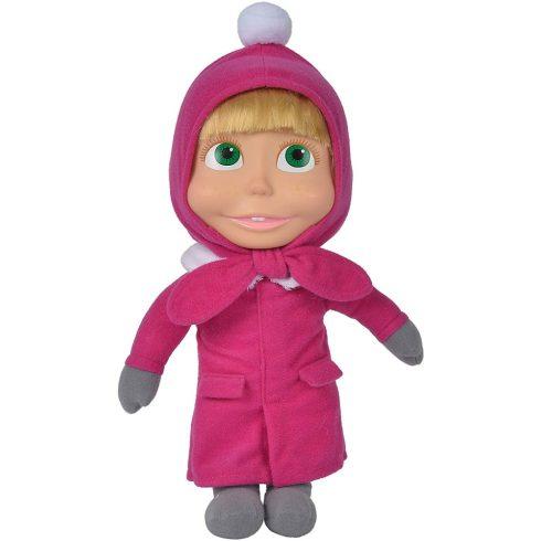 Simba Toys Mása és a medve - Éneklő Mása baba téli ruhában 30cm (109301035)