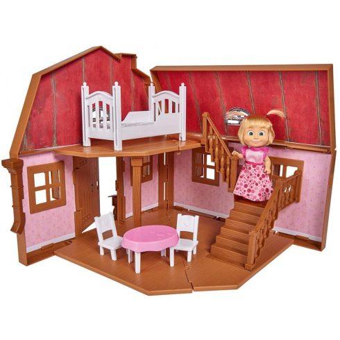Simba Toys Mása és a medve - Mása összecsukható, emeletes háza (109301038)