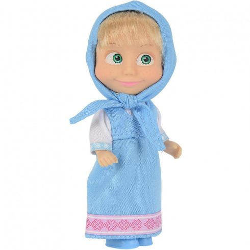Simba Toys Mása és a medve - Mása baba kék ruhában (109301678)