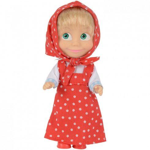 Simba Toys Mása és a medve - Mása baba piros ruhában (109301678)