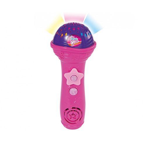 Simba Toys My Music World - Világító játék mikrofon lányoknak (106831464)
