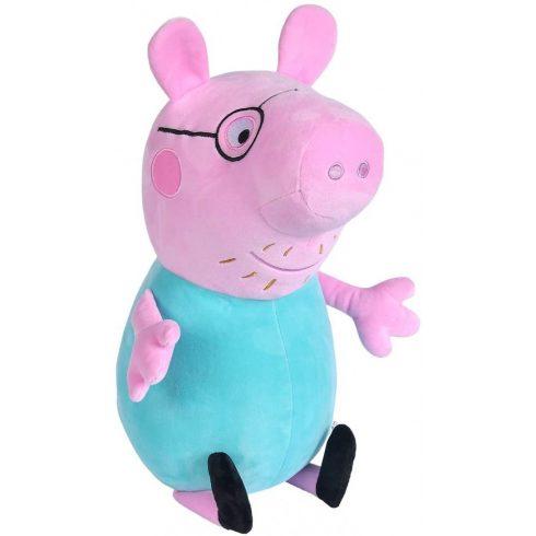 Simba Toys Peppa Pig - Peppa Papa malac plüssfigura 37cm (109261005)