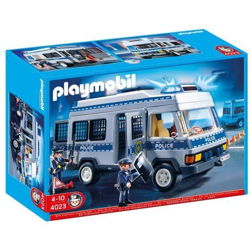 Playmobil 4023 Rendőrségi rabszállító