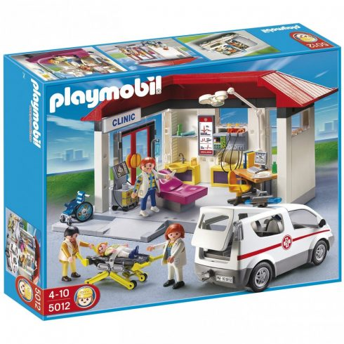 Playmobil 5012 Klinika mentőautóval