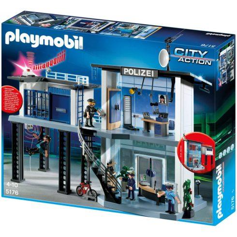 Playmobil 5176 Rendőrség cellával és szirénával