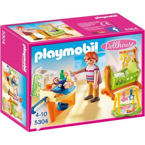 Playmobil 5304 Babaszoba gyerekággyal