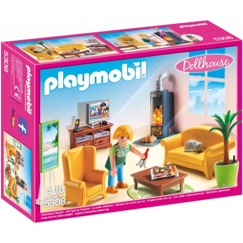 Playmobil 5308 Nappali kandallóval