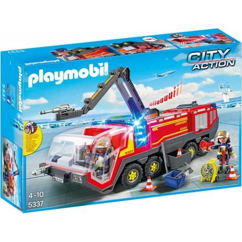 Playmobil 5337 Reptéri tűzoltóautó fénnyel és hanggal