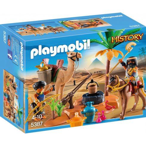 Playmobil 5387 Sírrablók tábora (csomagolássérült)