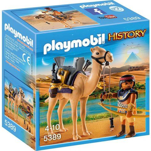 Playmobil 5389 Egyiptomi harcos tevével (csomagolássérült)