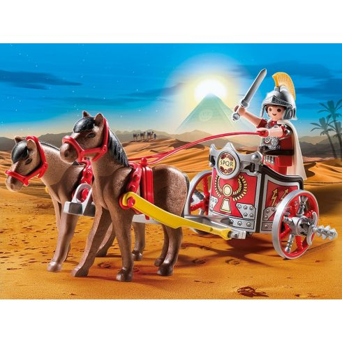 Playmobil 5391 Kétlovas római harci kocsi