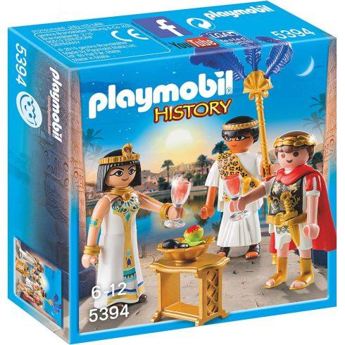 Playmobil 5394 Cézár és Kleopátra