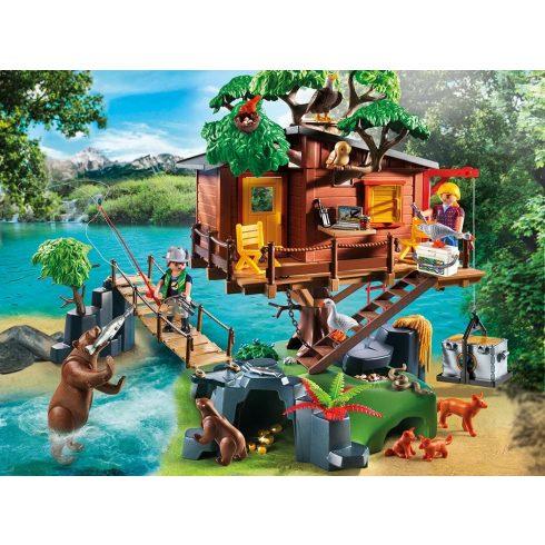 Playmobil 5557 Kalandorok faháza
