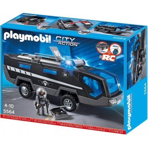 Playmobil 5564 Kommandósok páncélozott kamionja