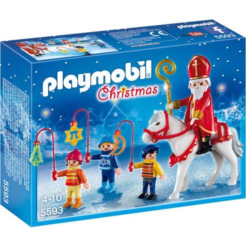 Playmobil 5593 Karácsony - Szent Miklós és gyermekkísérete