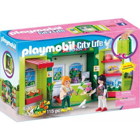 Playmobil 5639 Hordozható virágbolt