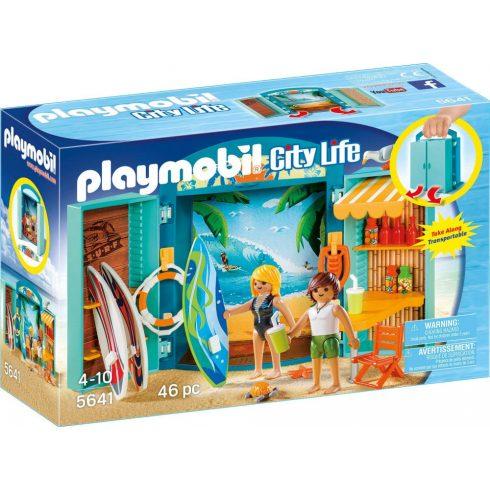 Playmobil 5641 Hordozható szörfbolt