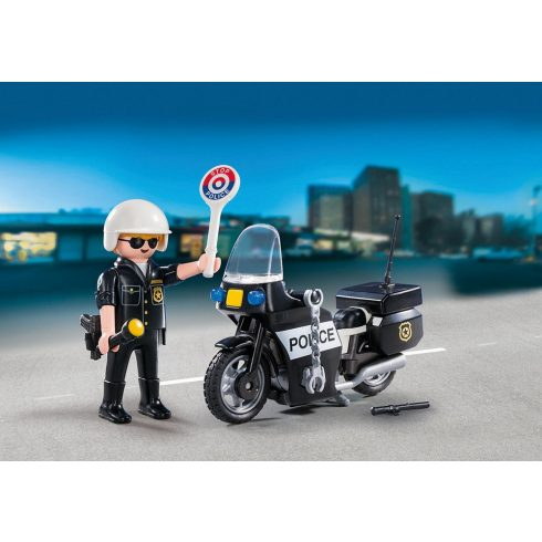 Playmobil 5648 Hordozható rendőrjárőr szett