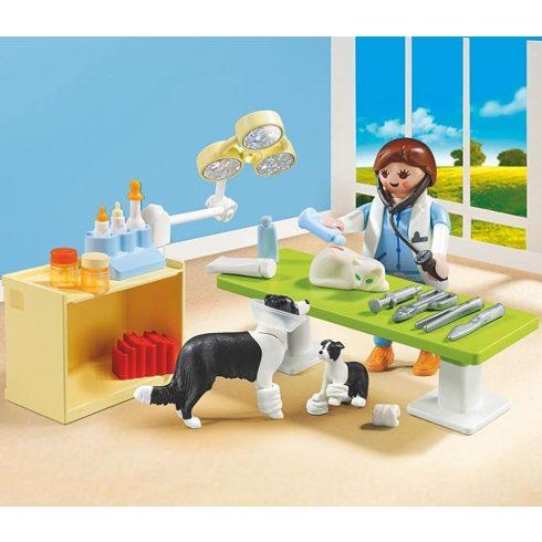 Playmobil 5653 Hordozható állatorvos szett