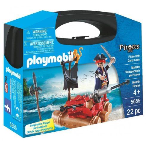 Playmobil 5655 Hordozható kalóztutaj szett