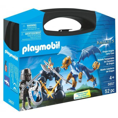 Playmobil 5657 Hordozható sárkánylovag szett