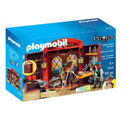 Playmobil 5658 Hordozható kalóz készlet