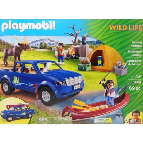 Playmobil 5669 Kemping a vadonban
