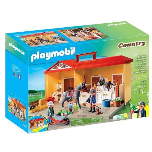 Playmobil 5671 Hordozható lovarda