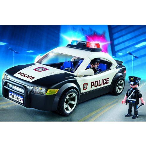Playmobil 5673 Rendőrautó villogóval és rendőrökkel
