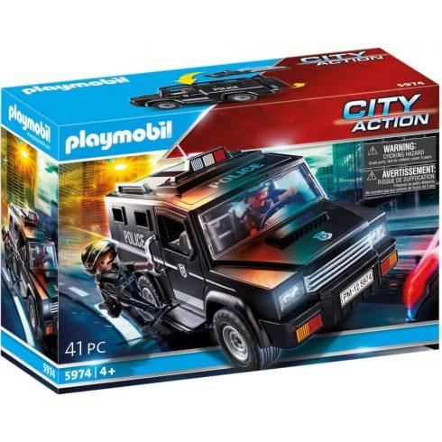 Playmobil 5974 Speciális egység terepjárója