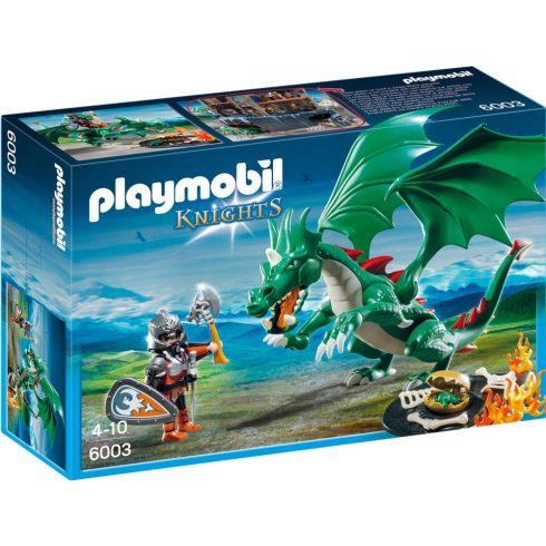 Playmobil 6003 Óriás zöld sárkány
