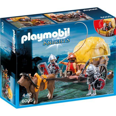 Playmobil 6005 Szalmaszállító sólyomlovagok