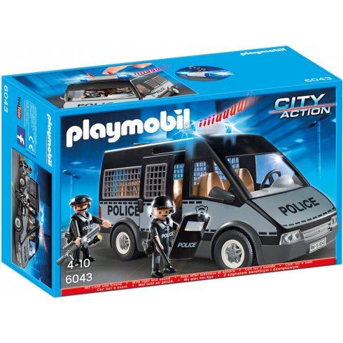 Playmobil 6043 Rendőrségi szállítóautó fénnyel és hanggal