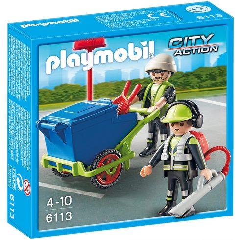Playmobil 6113 Városi utcaseprők