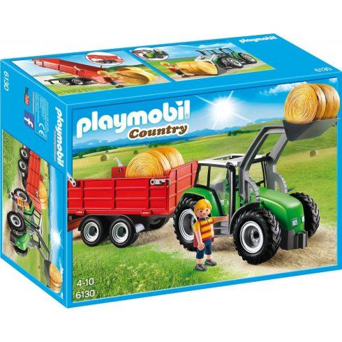 Playmobil 6130 Bálaszállító traktor pótkocsival