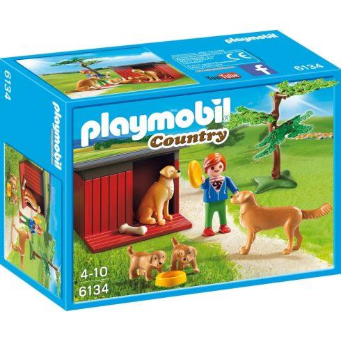 Playmobil 6134 Golden retriever kutyacsalád