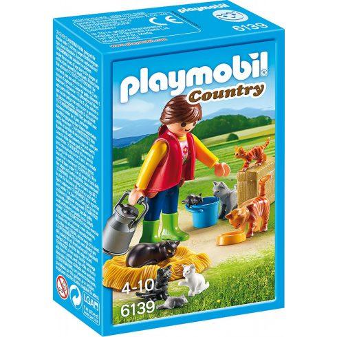Playmobil 6139 Cicacsalád gondozóval