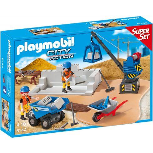 Playmobil 6144 Építkezés