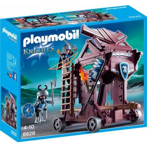 Playmobil 6628 Ezüstsólyom lovagok ostromgépe