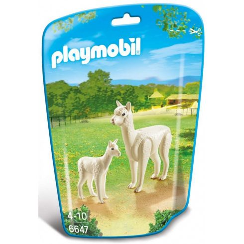 Playmobil 6647 Alpaka kicsinyével