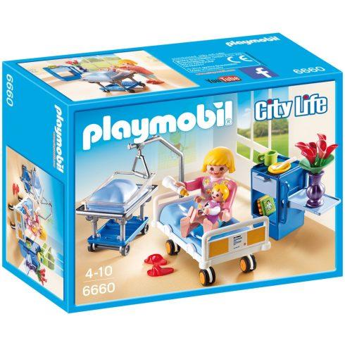 Playmobil 6660 Betegszoba babaággyal
