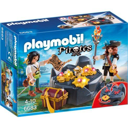 Playmobil 6683 Kalózok kincsekkel
